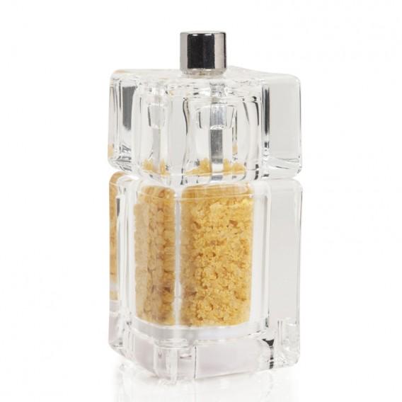 Salt with Saffron and Orange, square grinder 30g