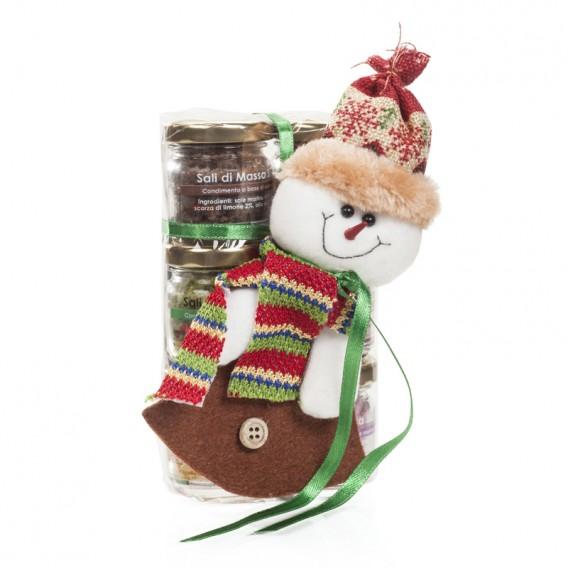 Six flavour salts in 25 g jars - Christmas box