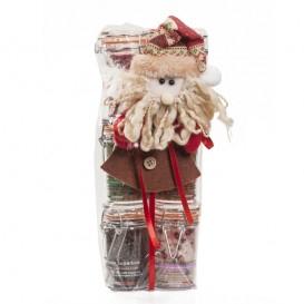 Six flavour salts in 80 g jars -Hermetic closure- Christmas box