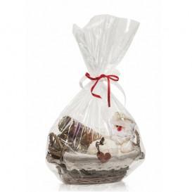 P1  Sei Sapori in Vasetti da 25g con Cestino di vimini Confezione Natale