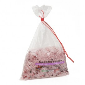 Salt with Strawberries and red Pepper ,bag 250g