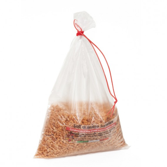 Salt with sweet Paprika and Peppers, bag 250g