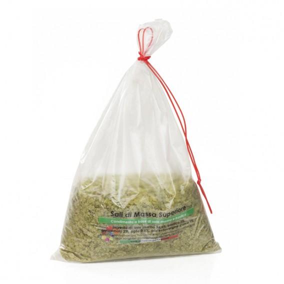 Salt with Basil and Garlic, bag 250 g