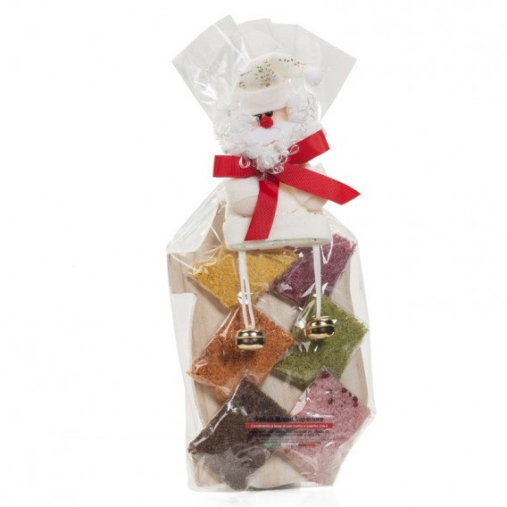 Six flavours 50g bags w/chopping board Christmas Gift Box