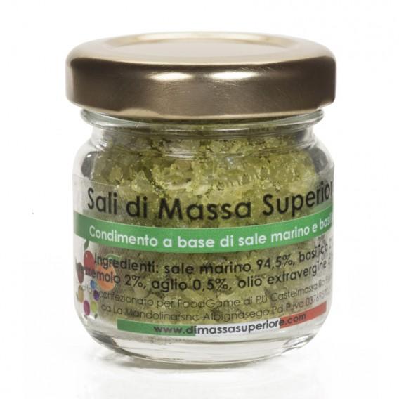 Salt with Basil and Garlic, jar 25 g