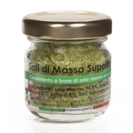 Salt with Basil and Garlic, jar 25 g
