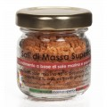 Salt with sweet Paprika and Peppers, jar 25 g