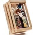 AA 1Confezione regalo sali e olio aromatizzati con sottopentola