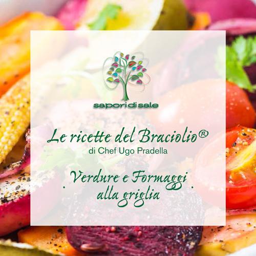 Book Ricette Verdure e Formaggi alla Griglia