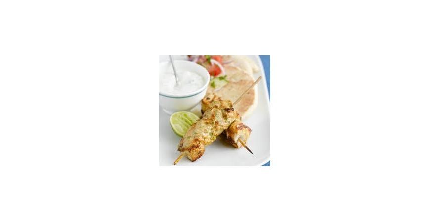 Speciale Grigliata di Carne: Spiedini di tacchino con maionese alle erbe
