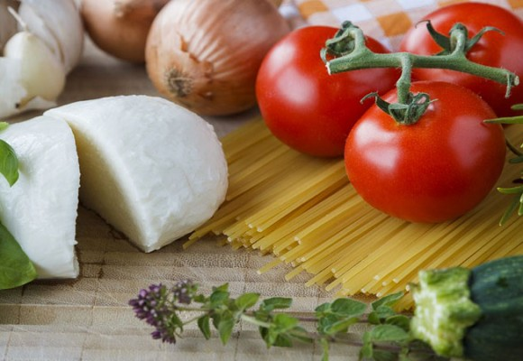 Ricetta per mozzarella e verdure grigliate